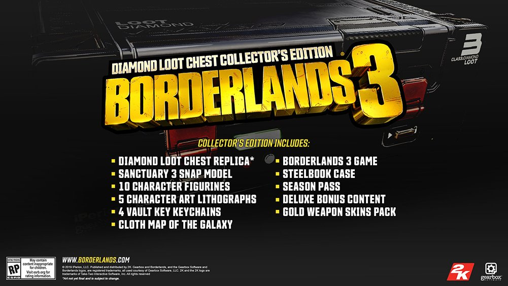 Borderlands 3 Diamond Loot Chest - What Was Revealed in the