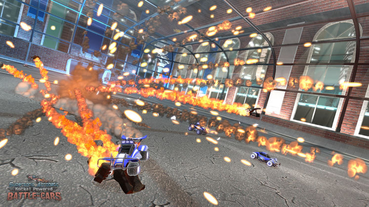 Supersonic Acrobatic Rocket-Powered Battle-Cars announced for PSN