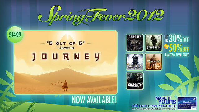 PSN's Spring Fever 2012 features Call of Duty and new PSN titles