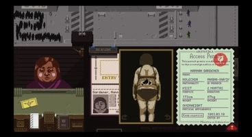 Communist border crossing immigration official sim Papers, Please! now available