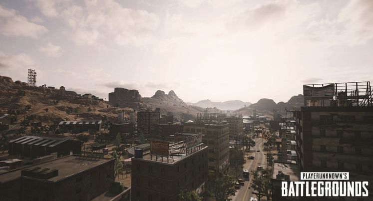 PlayerUnknown's Battlegrounds' Upcoming Desert Map Has A Sprawling Shopping Plaza And Even A Prison