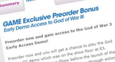Sony: God of War III demo date