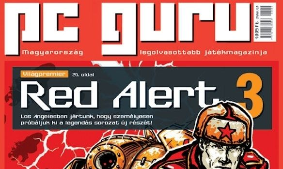Command and Conquer: Red Alert 3 to be announced shortly?