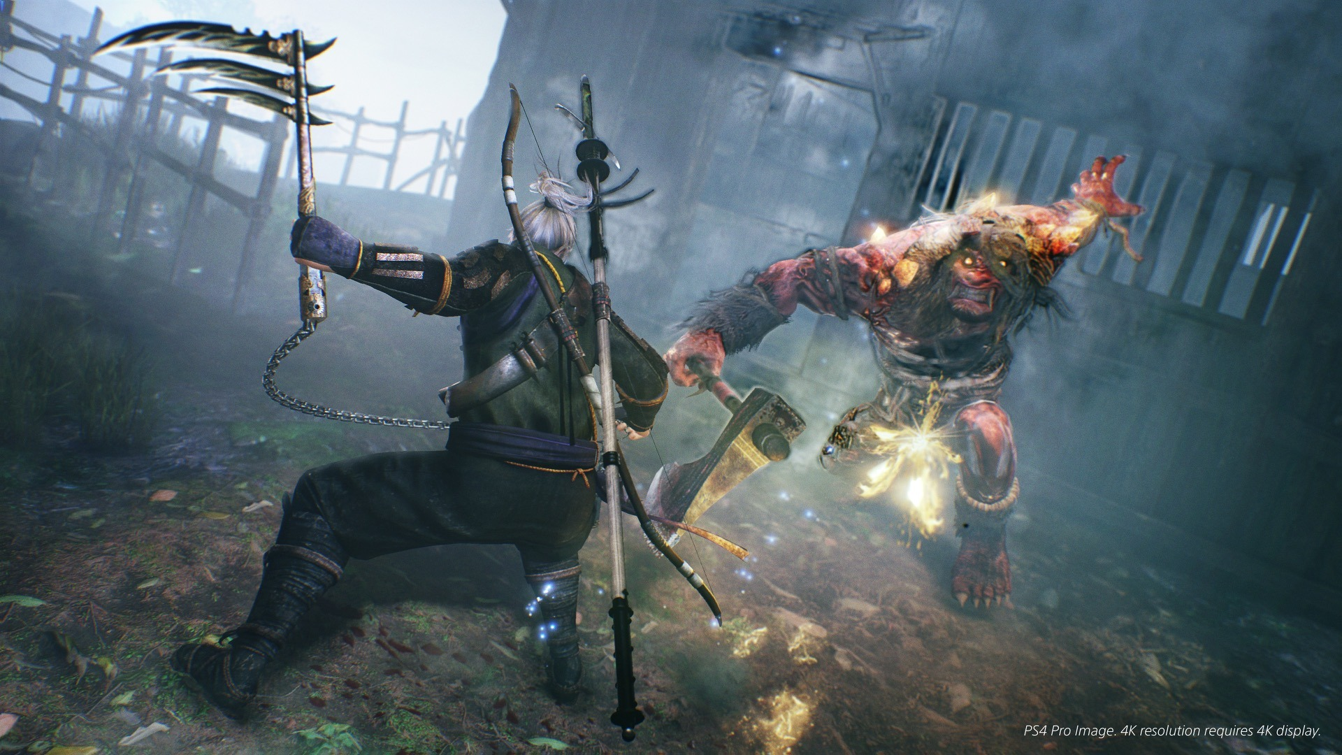 Nioh on PC Will Not Have Locked Visuals or DENUVO DRM