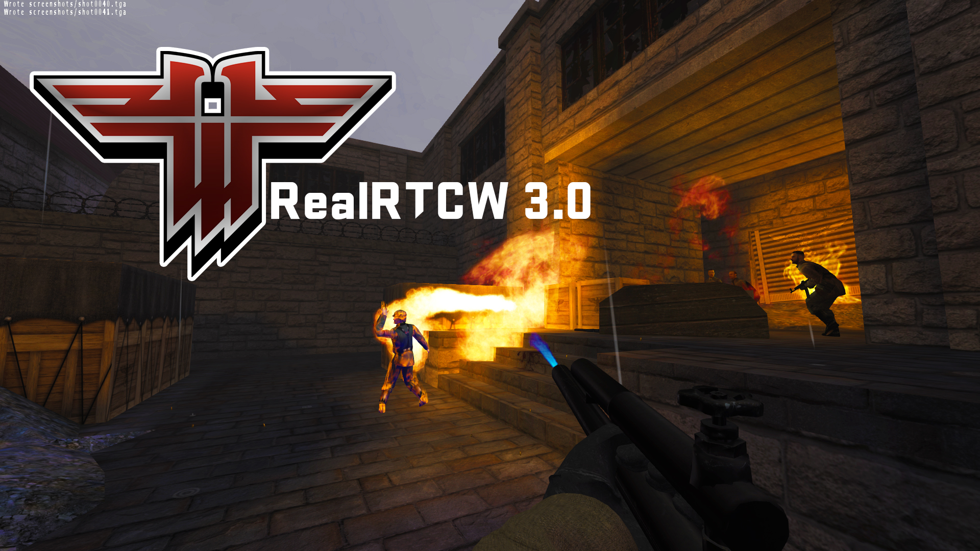 Replay Return To Castle Wolfenstein With The Huge Gamewatcher