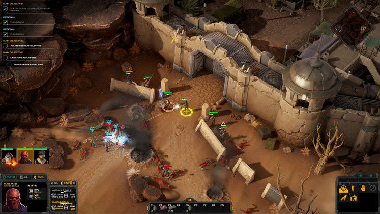 Futuristic RTS Gray Zone Enters Early Access in March