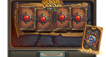 Hearthstone Expansion Kobolds and Catacombs Launches Next Week