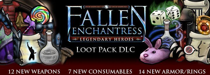 Loot Pack DLC now available for Fallen Enchantress