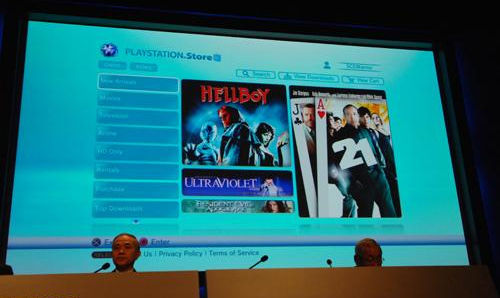 Sony's PSN video store launches in US, Europe has to wait a year