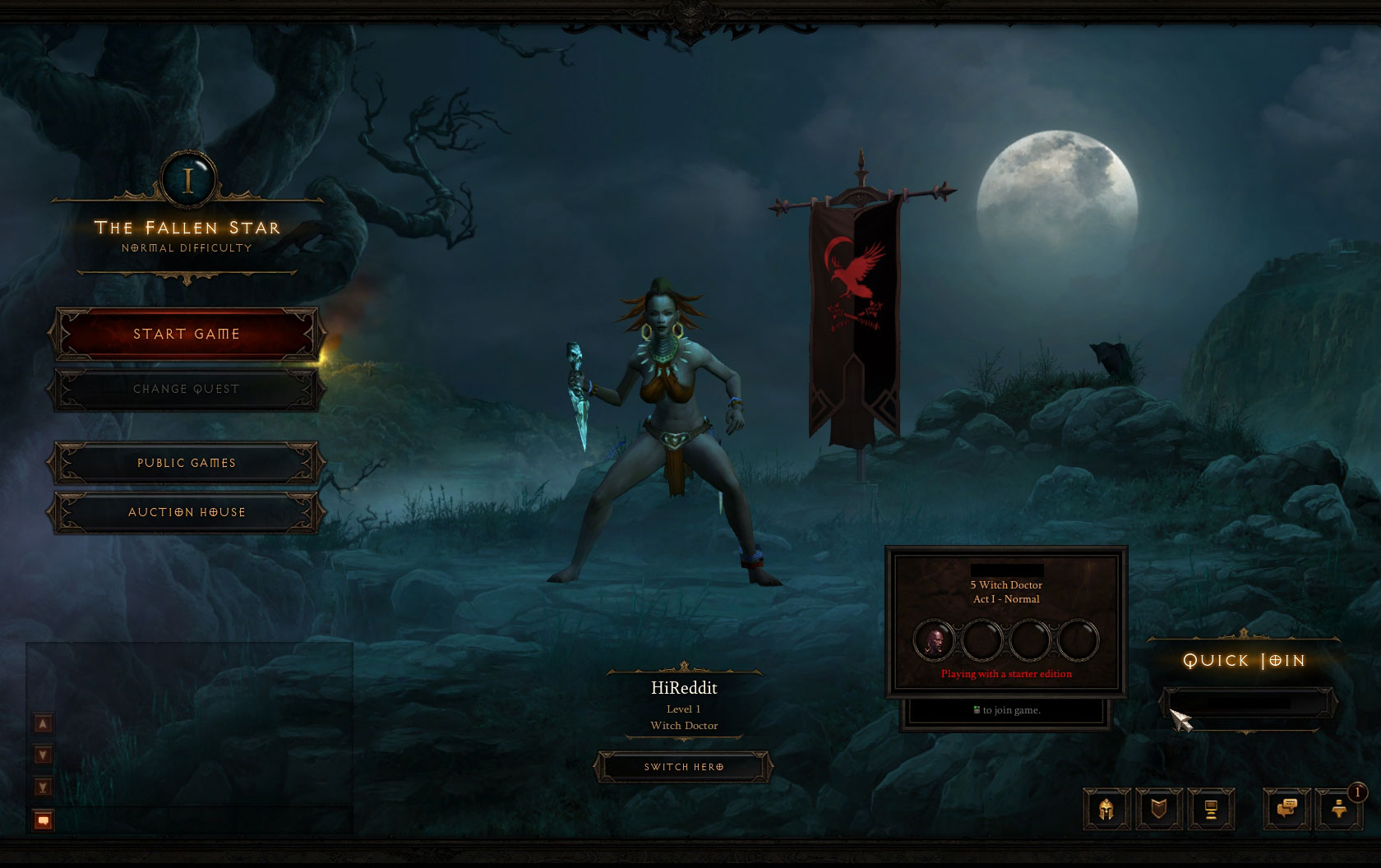 Diablo iii starter edition: versão gratuita do jogo já está.