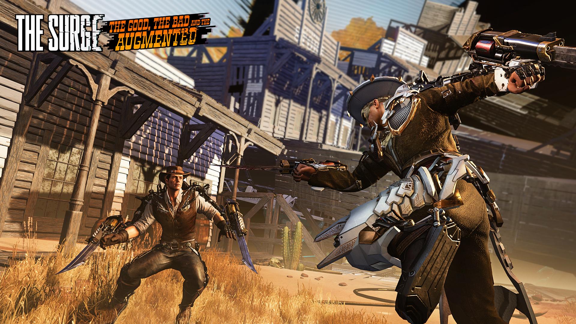 The Surge Wild West DLC First Screenshots Show a Gunslinger Grim Re