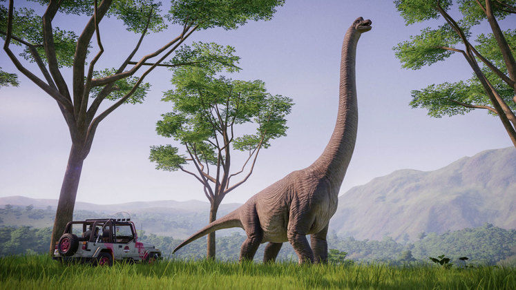 Jurassic World Evolution's next expansion brings back Jurassic Park and flying dinosaurs