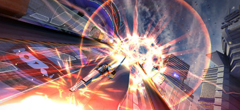 Sony talk WipEout HD's 2.10 patch, tackles