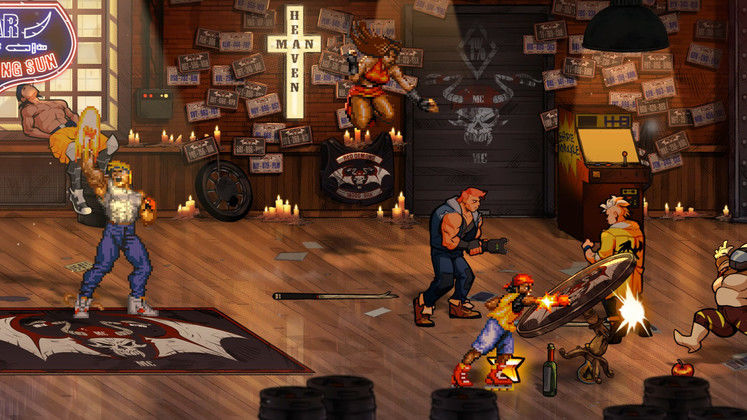 The beat 'em up king is back