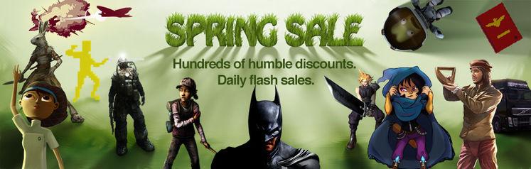 Humble Bundle Spring Sale offers Batman: Arkham Origins, South Park: Stick of Truth and more