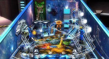 Marvel Pinball DLC features Fantastic Four