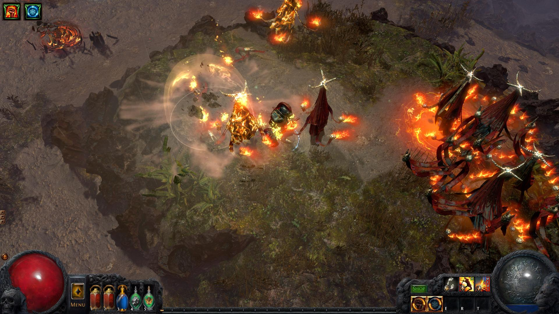 Path of Exile - What is the Exception Error?   GameWatcher