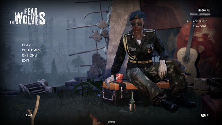 Fear The Wolves Releasing Next Month, Free Week on Launch