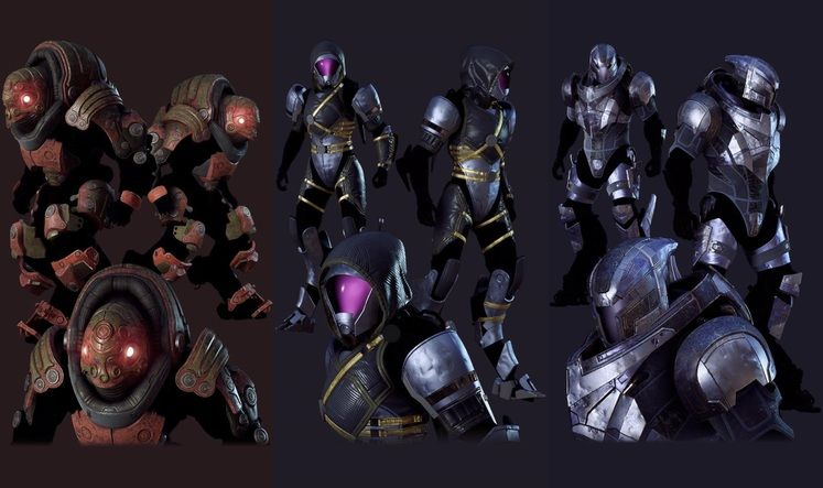 Mass Effect Armor datamined for Anthem