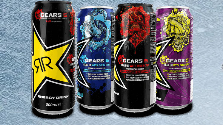 Gears 5 Rockstar Skins - What you get with Energy Drink ring codes