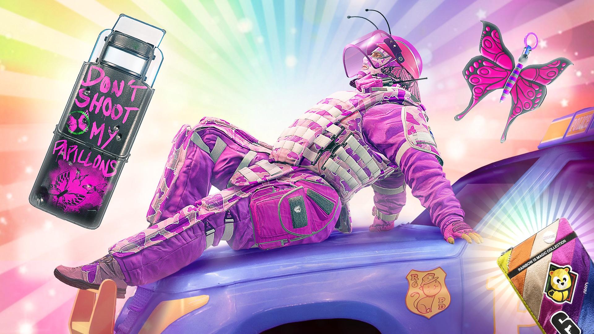 Rainbow Six Siege April Fools' Day Event Adds Unicorns, Pink