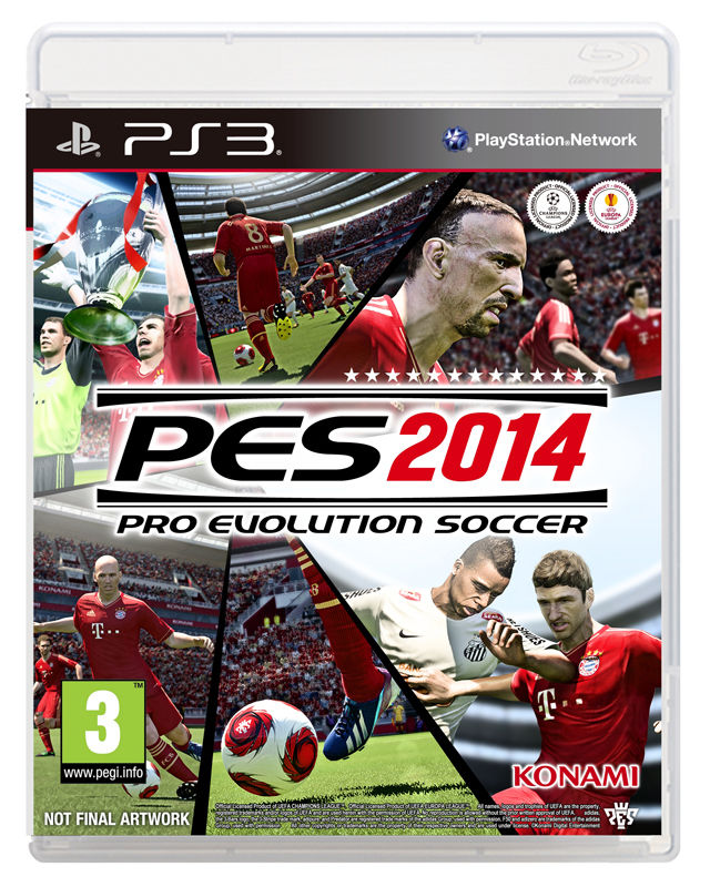 Konami's PES 2014 powered by Kojima Production's Fox Engine