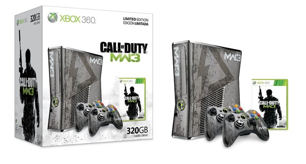 Modern Warfare 3 Xbox 360 Bundle Detailed Gamewatcher