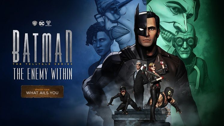 4th Episode of Telltale's Batman: The Enemy Within out January 23
