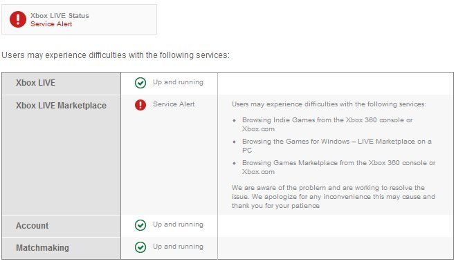 Xbox Live Marketplace out <Update>