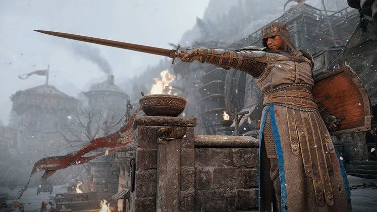 For Honor Gets New Knight Hero - Vortiger, the Black Prior