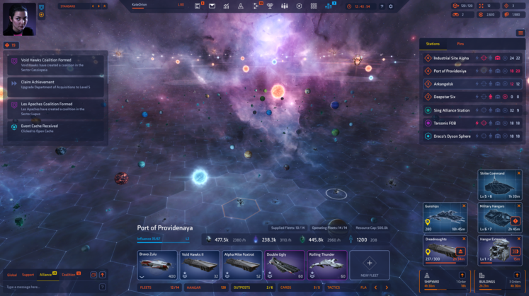 Starborne: Sci-fi Strategy and Intrigue in a massive scale