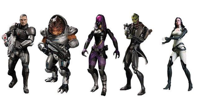 Mass Effect 3 figurines will include exclusive DLC codes