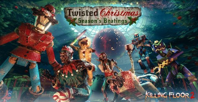 killing floor 2 twisted christmas event features gary busey - A Twisted Christmas