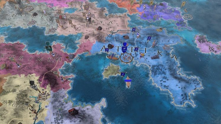 4X Strategy Game Imperiums: Greek Wars Launches on PC At the End of the Month