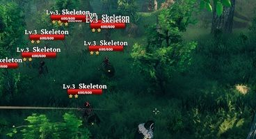 This Valheim Necromancy Mod Lets You Summon A Pack of Skeletal Friends
