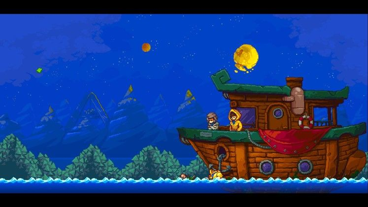 One of Iconoclasts' many pretty sights
