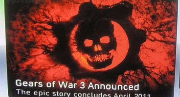 Gears of War 3 announced. Oops.