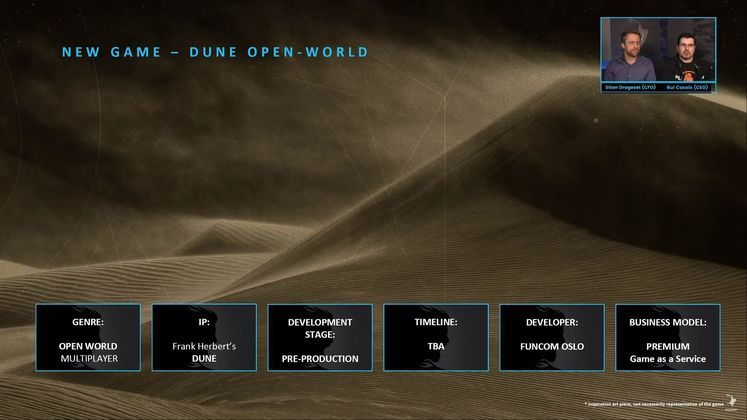 Dune open-world game will be