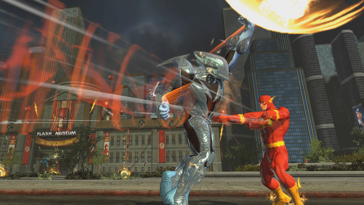 flash themed dlc now available for dc universe online gamewatcher
