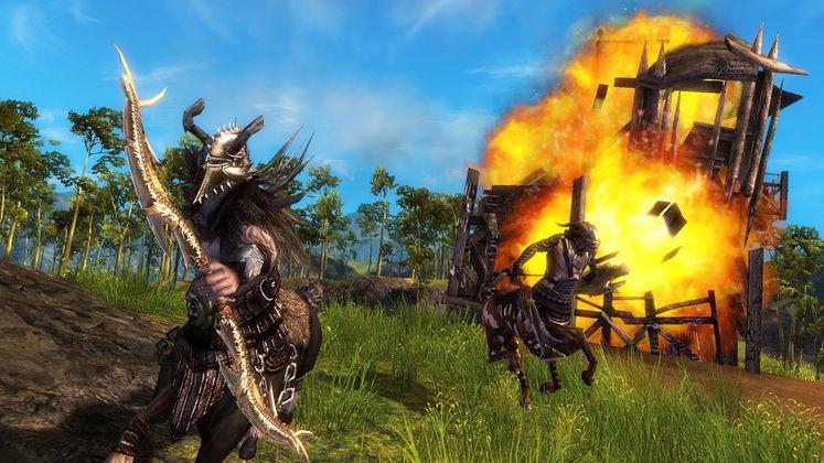 Guild Wars 2 closed beta test now underway