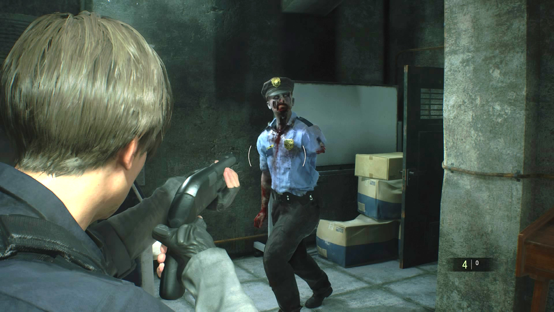 Resident Evil 2 Remake Fixed Camera - Is there a Classic
