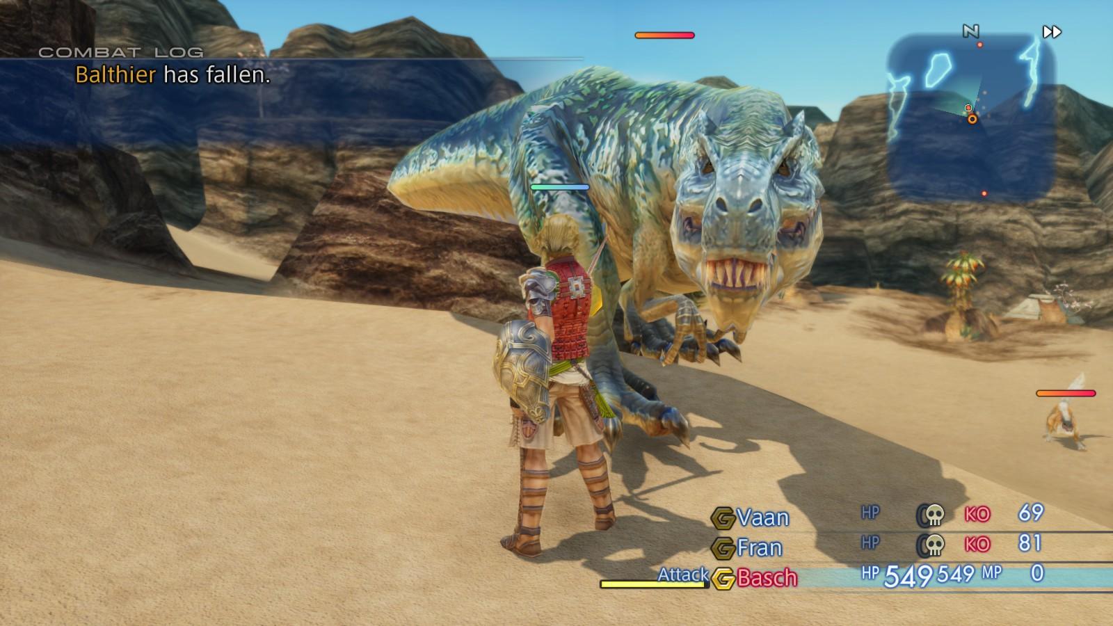 Final Fantasy XII: The Zodiac Age PC Review | GameWatcher
