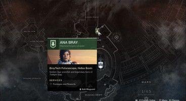 Destiny 2 Ana Bray Location - Where to Find Her?