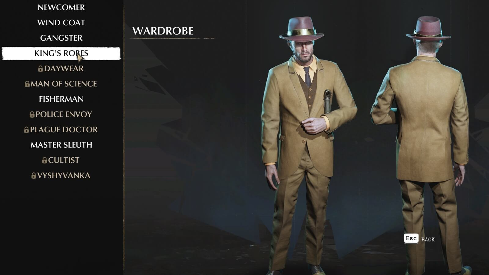 The Sinking City Outfits - How to unlock all Costumes | GameWatcher