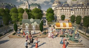 Anno 1800 Season Pass 3 Adds a Modular Warehouse District, Tourists, and Skyscrapers