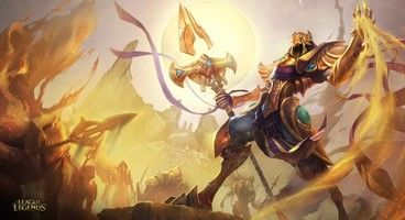 Latest League of Legends hero Azir lets his minions do the fighting