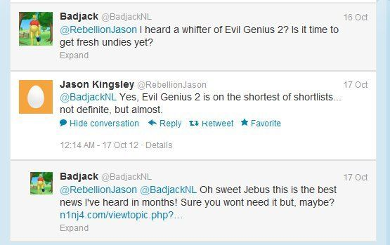 Rumor: Evil Genius 2 coming out this year