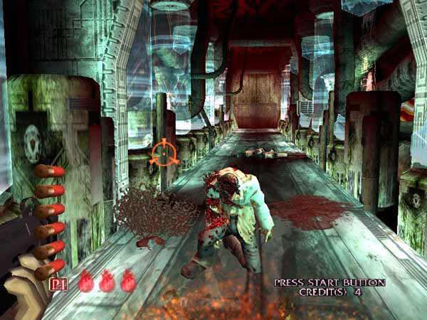 The House Of The Dead 3 4 Coming To Psn Use Move Gamewatcher