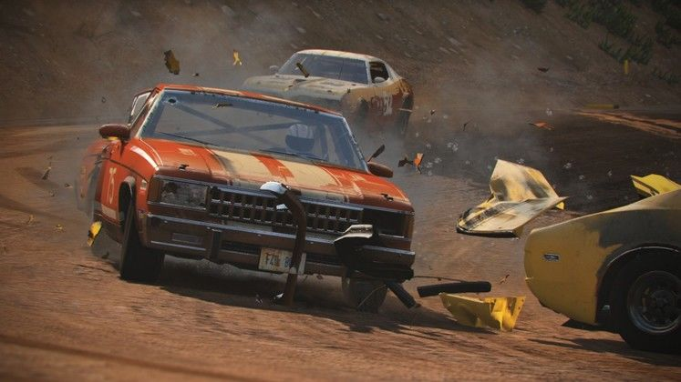 Next Car Game changes name to the slightly catchier Wreckfest