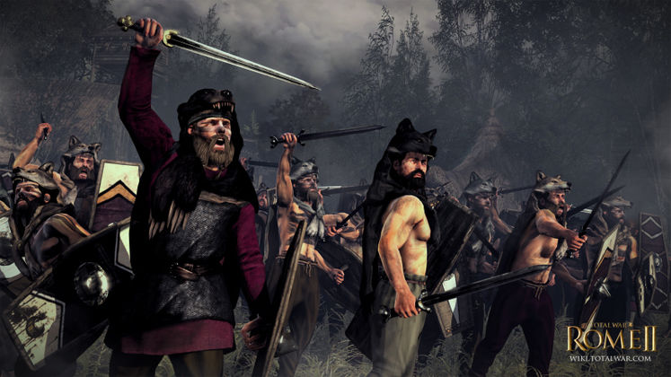 Suebi the latest faction reveal for Total War: Rome II